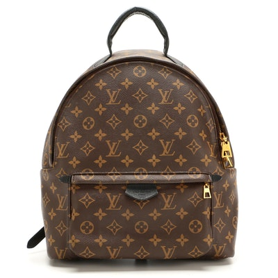 Louis Vuitton Palm Springs Backpack in Monogram Canvas