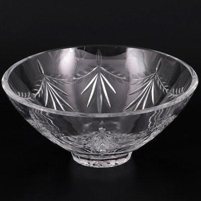 """Fabergé """"Ville De Lyon"""" Crystal Bowl, Late 20th Century"""