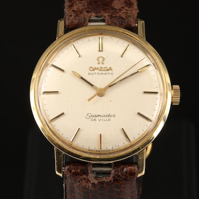 1966 Omega Seamster DeVille Two-Tone Automatic Wristwatch