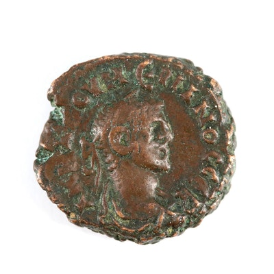 Ancient Roman Provincial AE Tetradrachm Coin of Numerian, ca. 284 AD