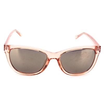 Kenneth Cole Reaction KC1267 Sunglasses in Pink Translucent Acetate