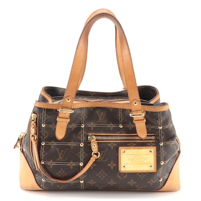 Louis Vuitton Limited Edition Riveting Bag in Monogram Canvas