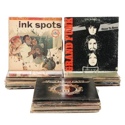 Elvis Presley, David Bowie, ZZ Top, Rolling Stones, Other Vinyl LP Records