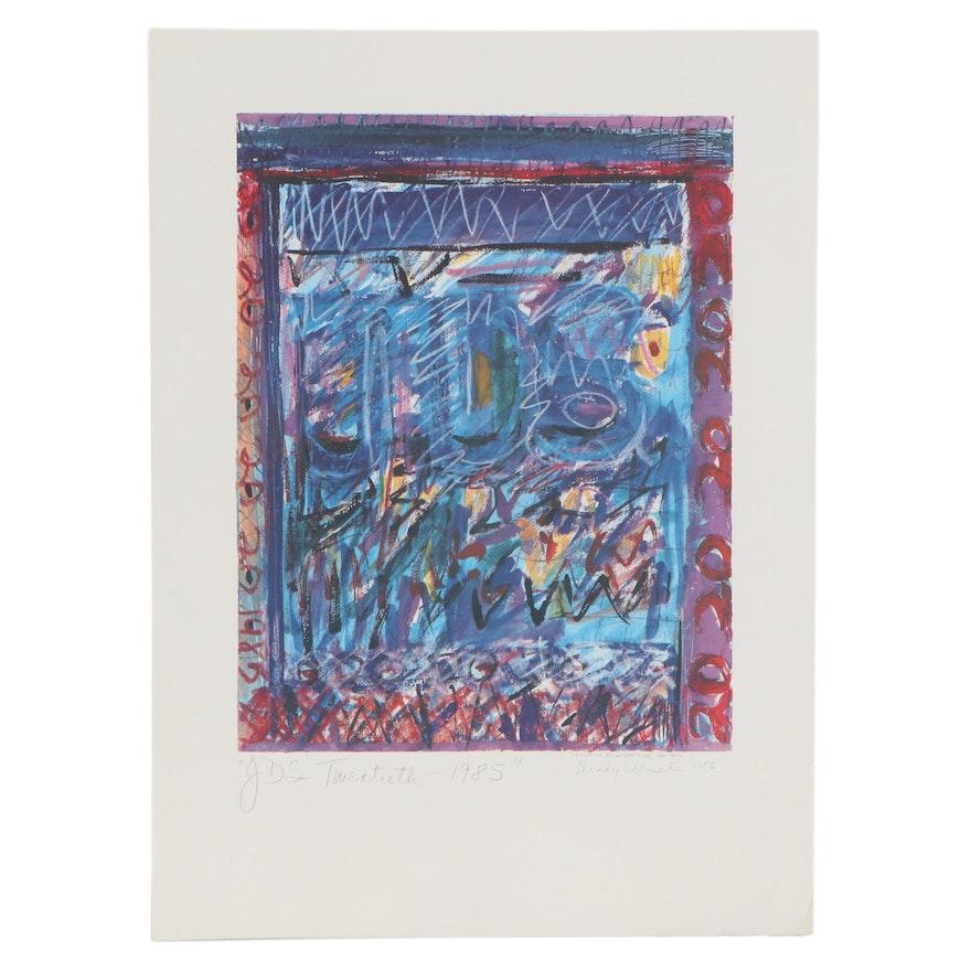 """Offset Lithograph after Mindy Wiesel """"JDS Twentieth"""""""
