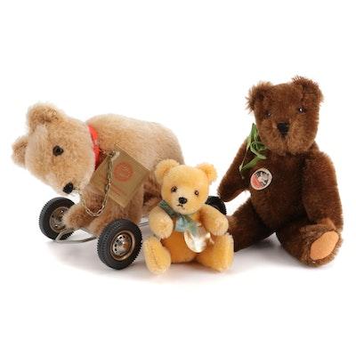 Hermann Teddy Bears and Mutzli Teddy Bear, Mid-20th Century