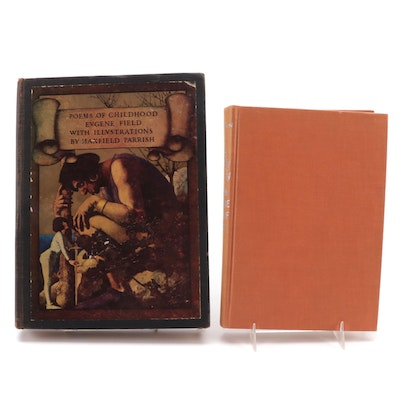 """Maxfield Parrish Illustrated """"Poems of Childhood"""" by Eugene Field and More"""