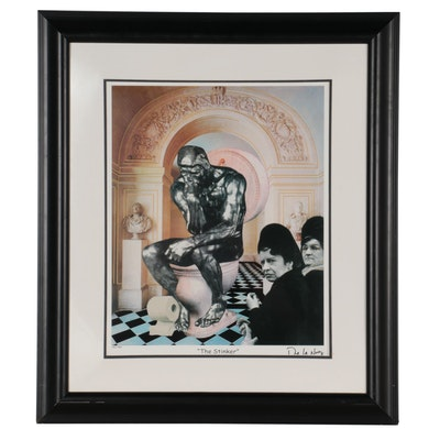"""Nelson De La Nuez Offset Lithograph """"The Stinker,"""" 2000"""