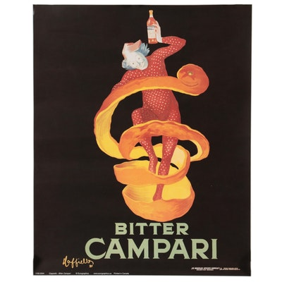 "Offset Lithograph after Leonetto Cappiello ""Bitter Campari,"" 21st Century"