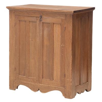 Poplar Side Cabinet, Late 19th Century