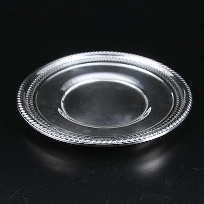 La Pierre Pierced Sterling Silver Sandwich Plate