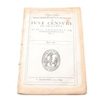 """""""Quo Vadis? A Just Censure of Travell"""" and More Sermons by Joseph Hall, 1634"""