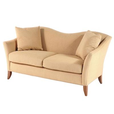 Vanguard Furniture Upholstered Serpentine-Back Sofa