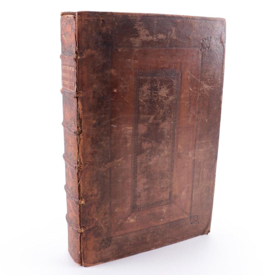 """French Language """"L'Antiquité Expliquée et Représentée en Figures,"""" 1719"""