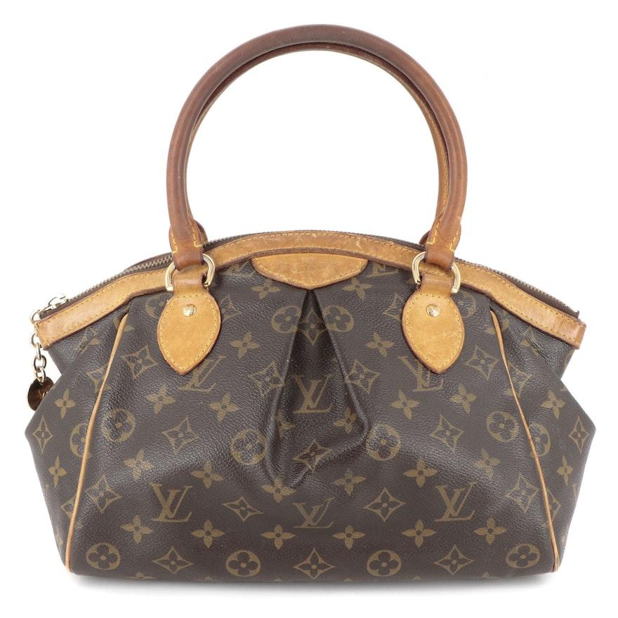 Louis Vuitton Tivoli PM Bag in Monogram Canvas and Vachetta Leather
