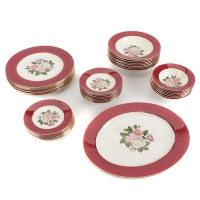"""Homer Laughlin """"Margaret Rose"""" Ceramic Dinnerware"""