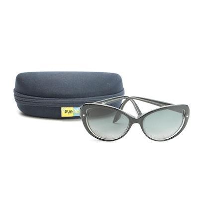 Christian Dior Pondichery 1 Sunglasses with EyeLab Zippered Case
