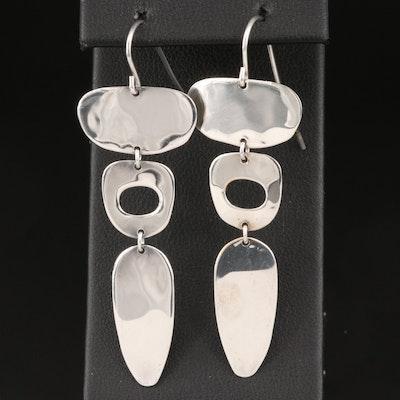 Robert Lee Morris Studio Sterling Silver Earrings