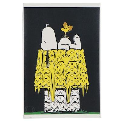 "Death NYC Pop Art Graphic Print ""Resting,"" 2020"