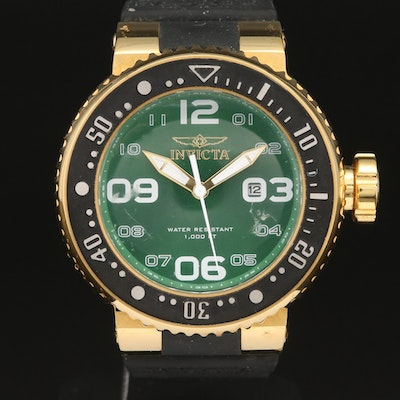 Invicta Pro Diver Scuba Model 21523 Stainless Steel Wristwatch