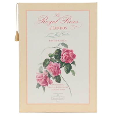 """""""The Royal Roses of London: Queen Mary's Garden"""" by Carol Guest, 1992"""