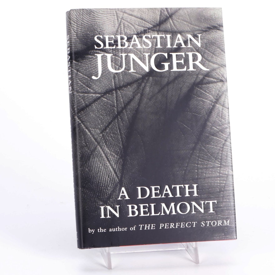 """Signed First Edition """"A Death in Belmont"""" by Sebastian Junger, 2006"""