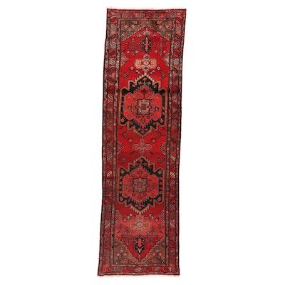 3'2 x 10'9 Hand-Knotted Persian Kolyai Long Rug
