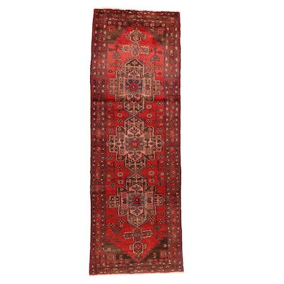 3'3 x 9'11 Hand-Knotted Persian Baluch Long Rug
