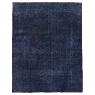 8' x 10'4 Hand-Knotted Persian Overdyed Area Rug