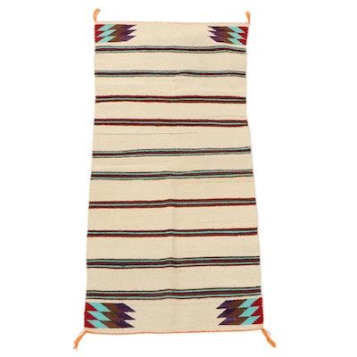 2'6 x 5'1 Handwoven Southwestern Style Area Rug
