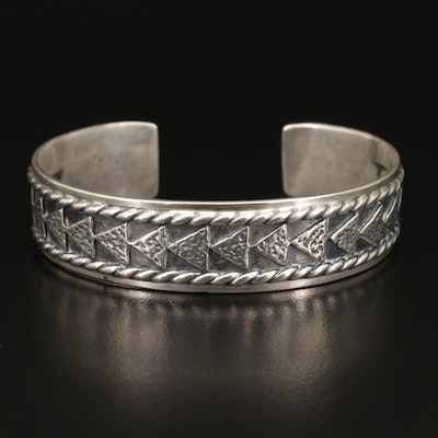 Roderick and Marilyn Tenorio for Carolyn Pollack Sterling Cuff