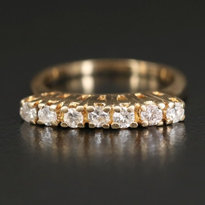 14K Diamond Seven Stone Ring