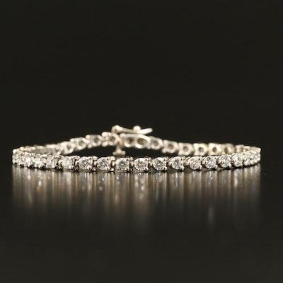 14K 3.90 CTW Diamond Tennis Bracelet
