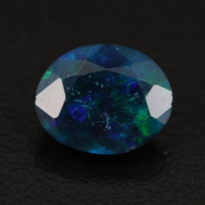Loose 1.64 CT Oval Faceted Opal