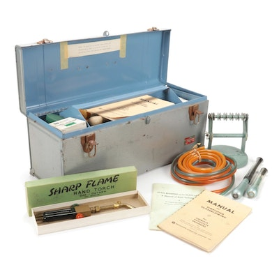 Bethlehem Apparatus Co. Torch Scientific Glass Blowing Kit and Instructions