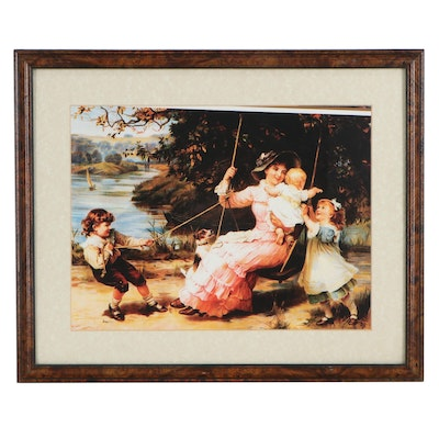 """Giclée After Frederick Morgan """"The Swing"""""""