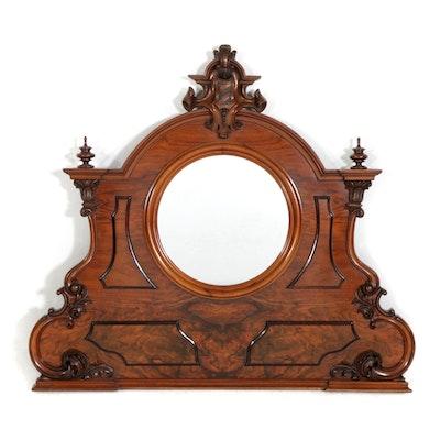 Victorian Mahogany Dresser MIrror