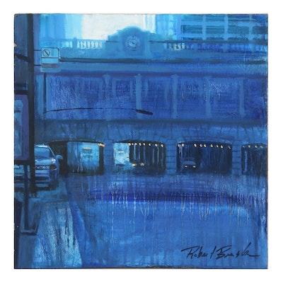 """Robert Brasher Oil Painting """"Congress Express,"""" 2010"""