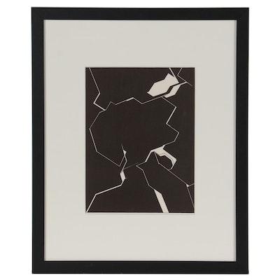 """Lithograph After Pablo Palazuelo for """"Derriére le Miroir,"""" 1974"""