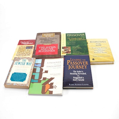"""""""Leading the Passover Journey"""" by Nathan Laufer and More Religious Books"""