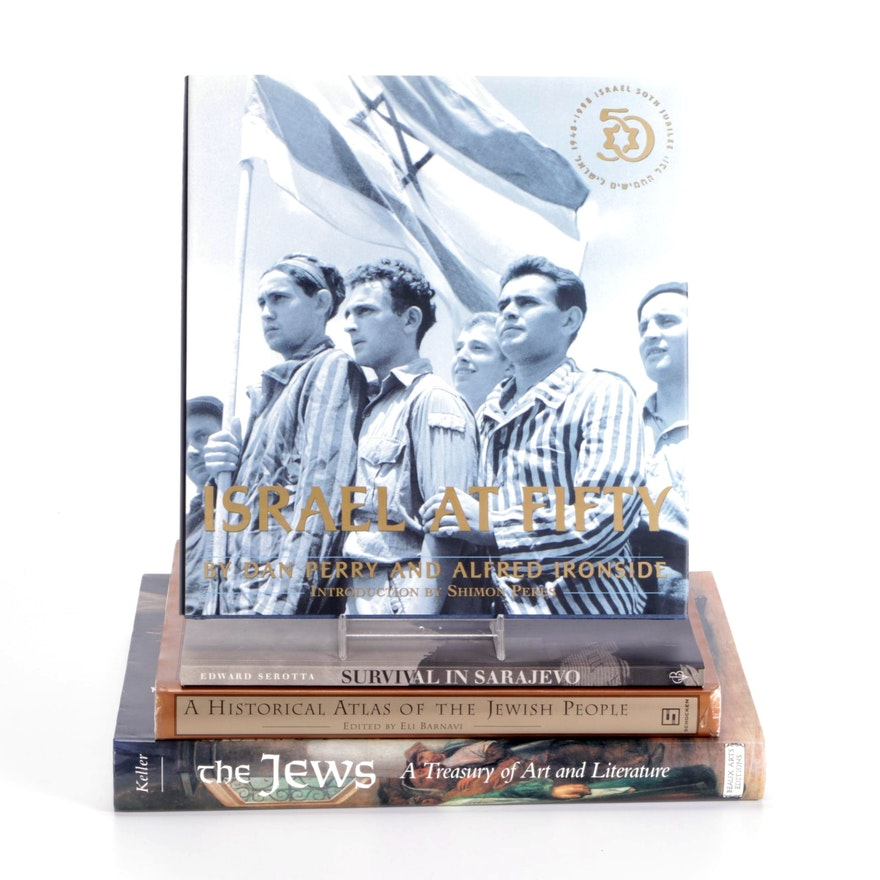 """""""Israel at Fifty"""" and More Jewish History and Art Reference Books"""