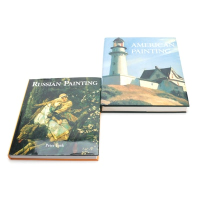 """""""American Painting"""" and """"Russian Painting"""" Art Reference Books"""