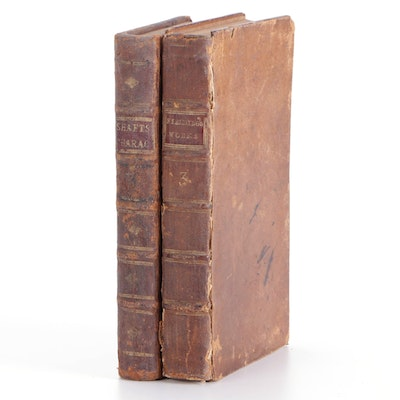 """""""The Works of Henry Fielding"""" and """"Characteristicks,"""" Mid-18th Century"""