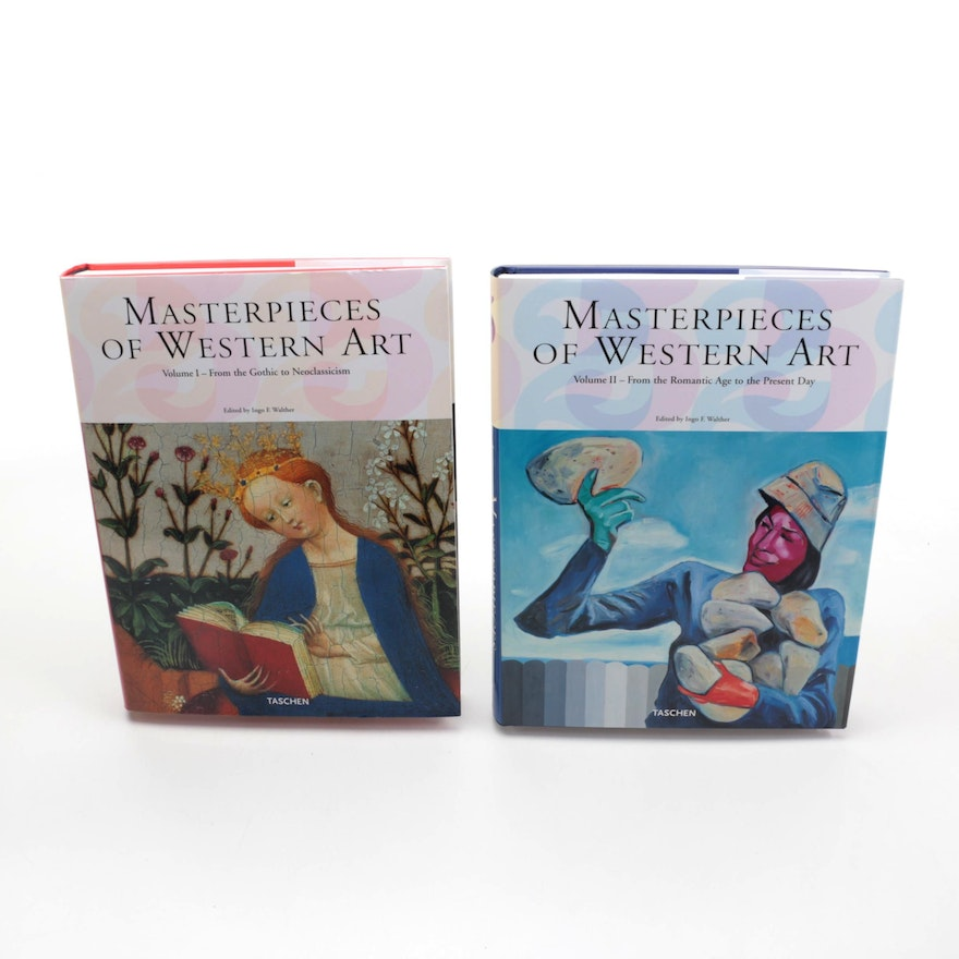 """""""Masterpieces of Western Art"""" Two Volume Set, 2005"""