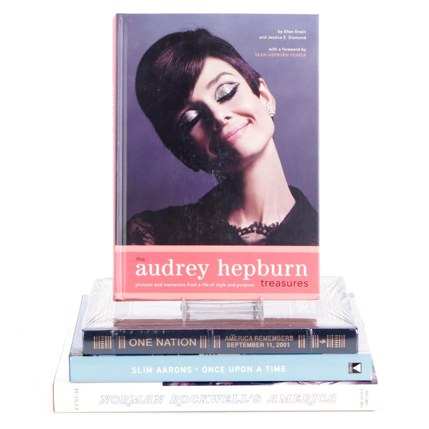 """""""The Audrey Hepburn Treasures,"""" """"Once Upon a Time,"""" and More Art Reference Books"""