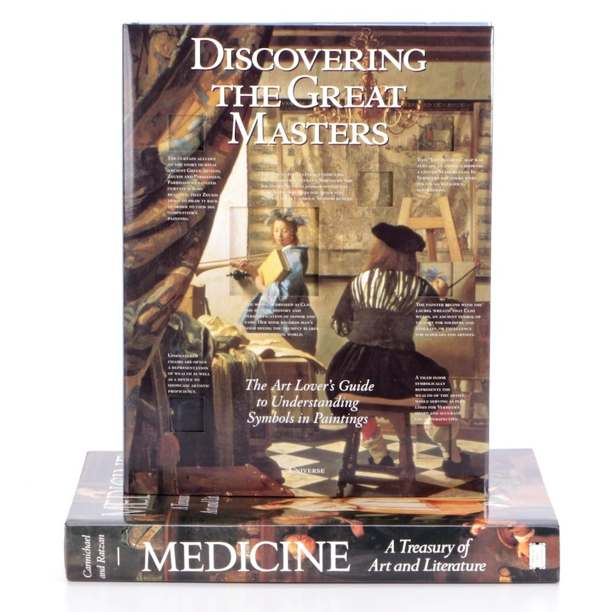 """""""Discovering the Great Masters"""" and """"Medicine: A Treasury of Art and Literature"""""""