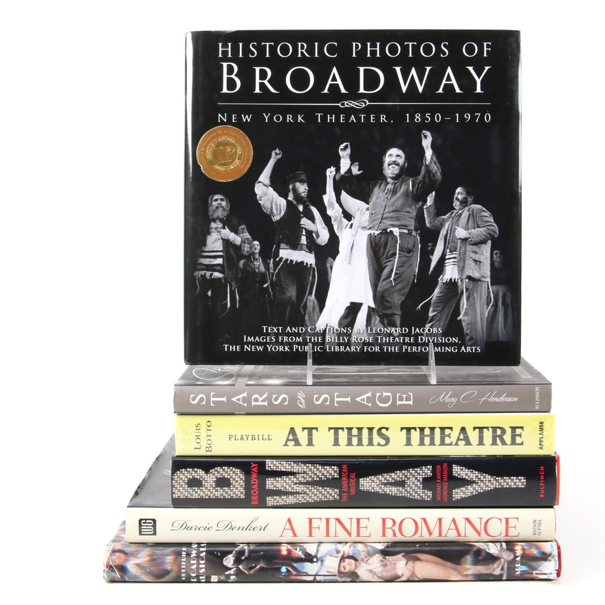 """""""Stars on Stage"""" by Mary C. Henderson and More Broadway Art and History Books"""