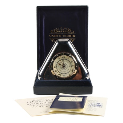 "Grants of Dalvey "" The Dalvey Cabin Clock"", Late 20th Century"