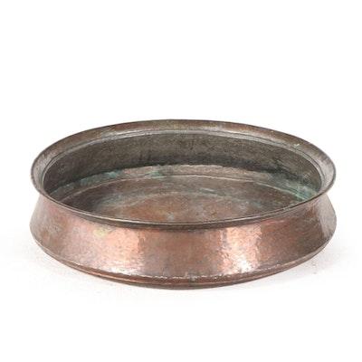 Hammered Copper Handi Bowl