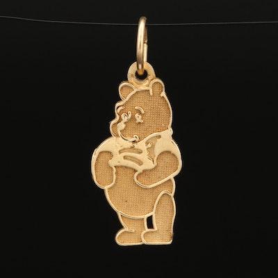 Disney 14K Winnie the Pooh Charm