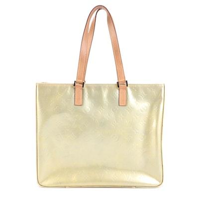 Louis Vuitton Columbus Tote Bag in Monogram Vernis Leather
